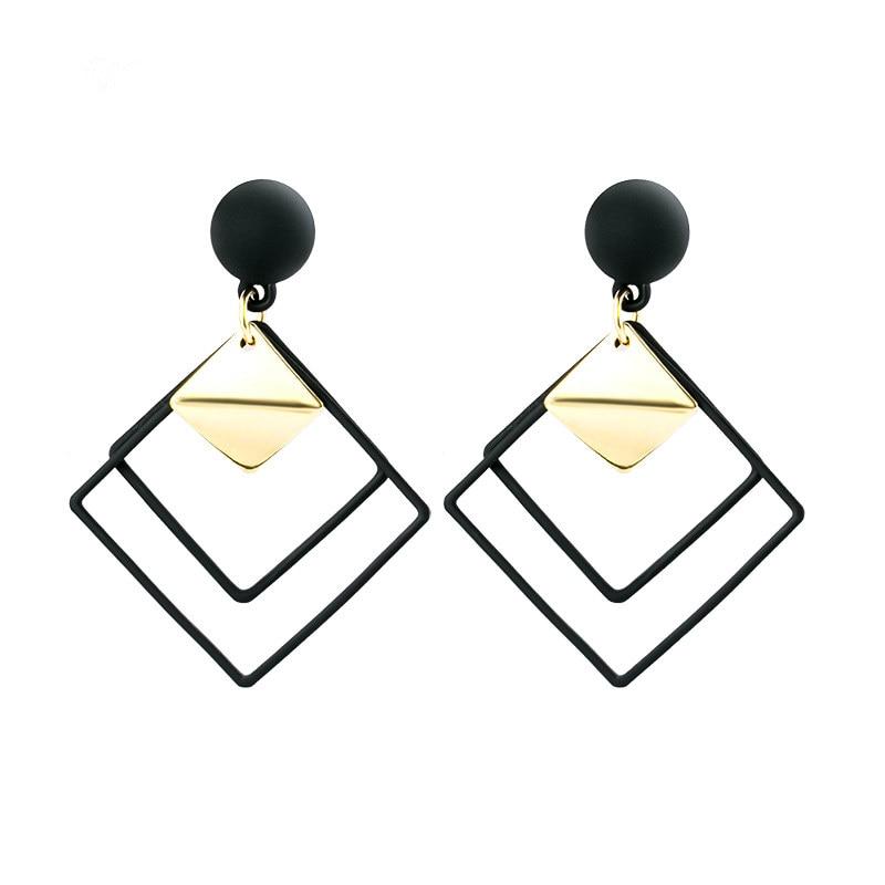Women's Geometric Drop Earrings