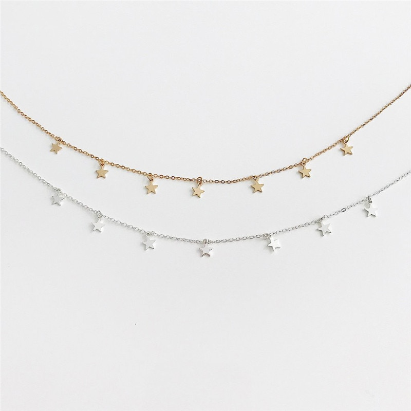Star Decorated Choker for Girls